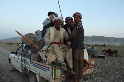 guys on dusk truck