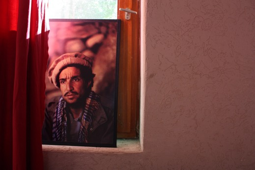 massoud in panjshir window