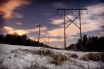 moonlit poles touched