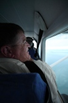 dad in plane