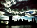 dark cityscape