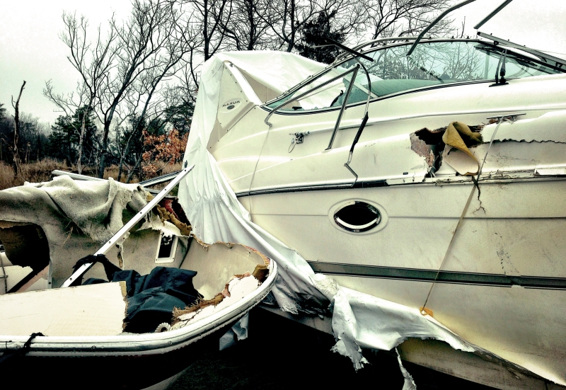 jersey busted boats