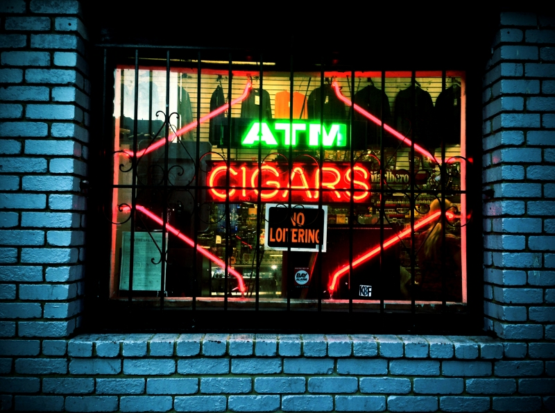 cigars and atm