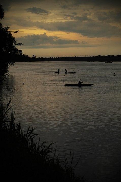 Congo fishermen