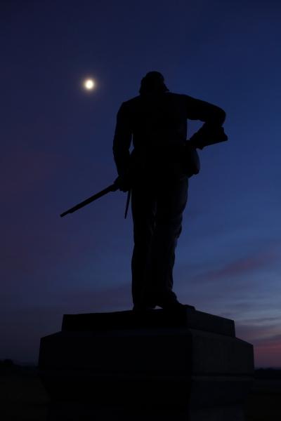 gettysburg silhouette