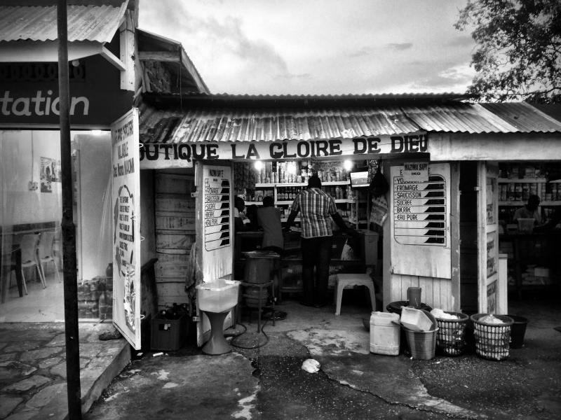 Congo storefront copy