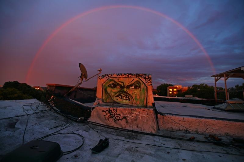 angry rainbow